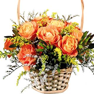 Splendoare Cu Trandafiri Cosuri Cu Flori Produse
